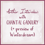 Author Interview With Chantal Gadoury